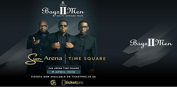 Boyz II Men Cape Town Tickets